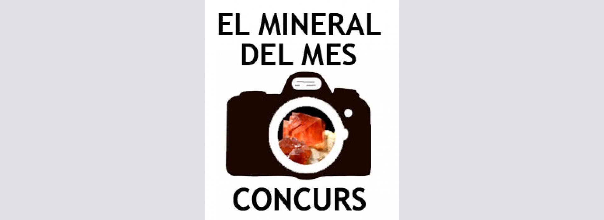 """Concurs """"El mineral del mes"""" - Març 2019."""