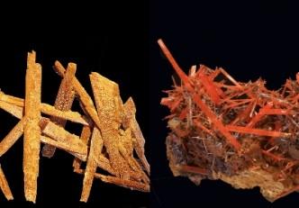 El mineral del mes de junio: Yeso y crocoíta