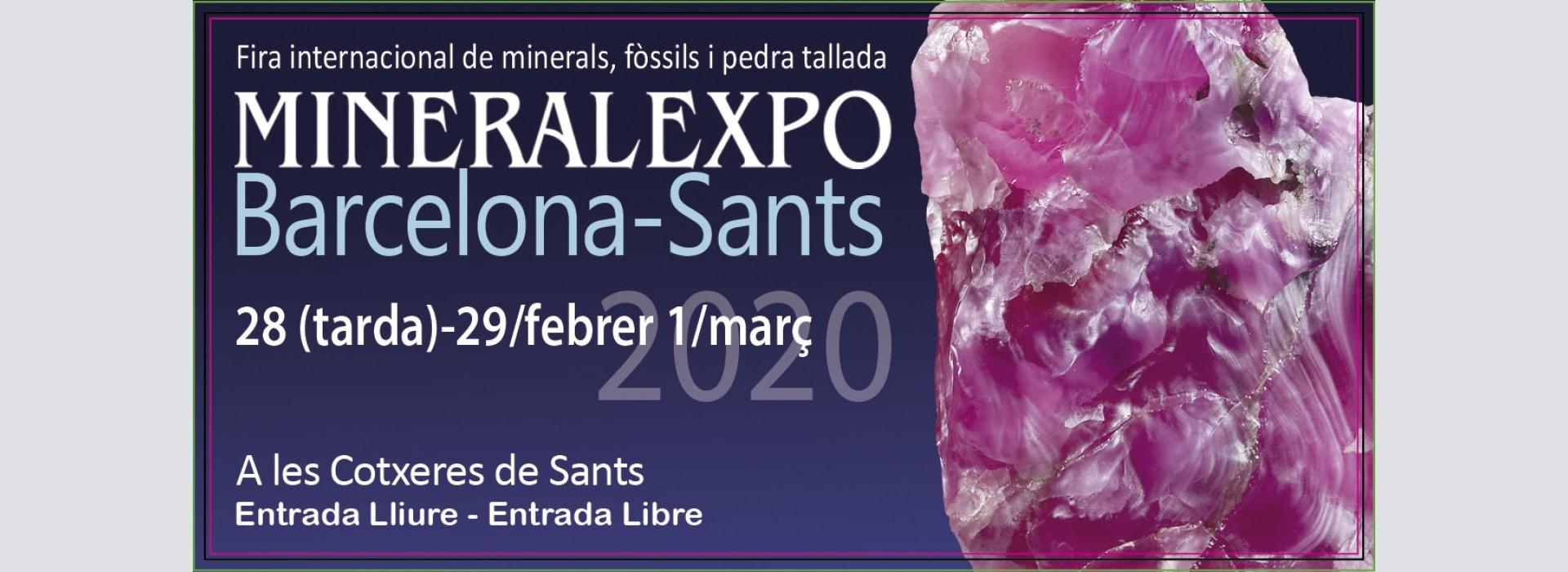 MineralExpo Barcelona-Sants 2020