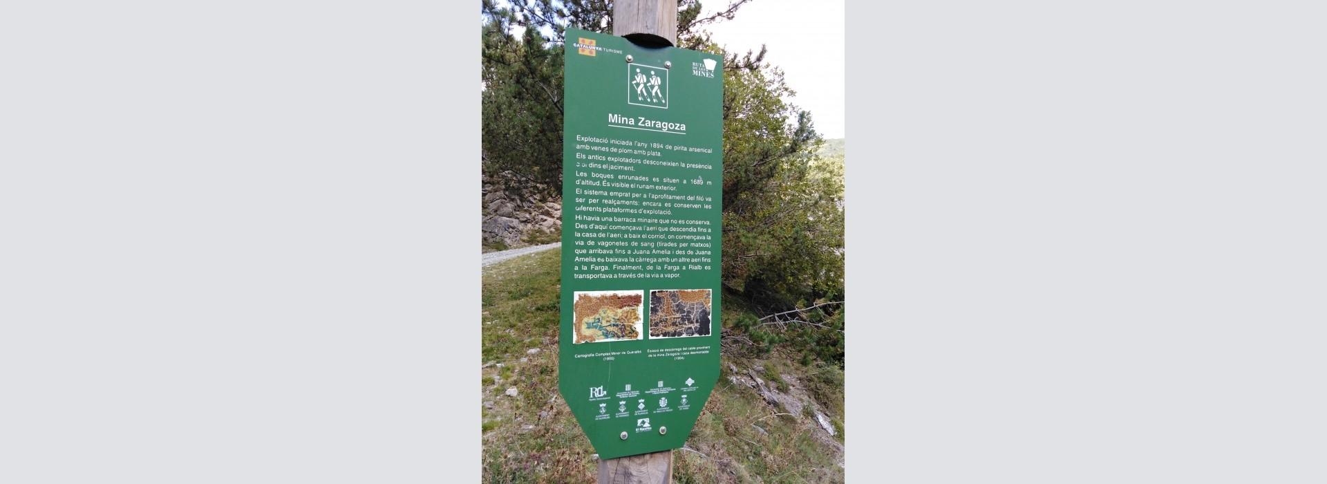 """Sortida del GMC a la mina """"Zaragoza"""" (Queralbs) i als terregalls de les mines del collet de les Barraques (Planoles), a la Vall de Ribes, el Ripollès, Girona."""