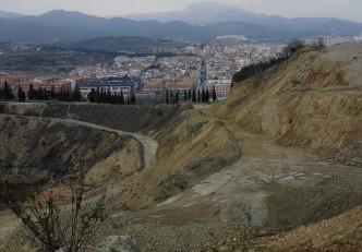 """Salida del GMC a la cantera """"La Constancia"""", Terrassa, Vallès Occidental."""