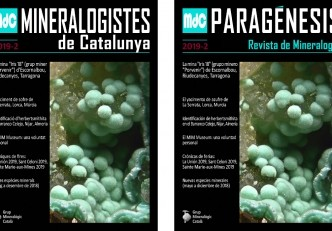 Nueva revista Mineralogistes de Catalunya 2019-2 y Paragénesis 2019-2