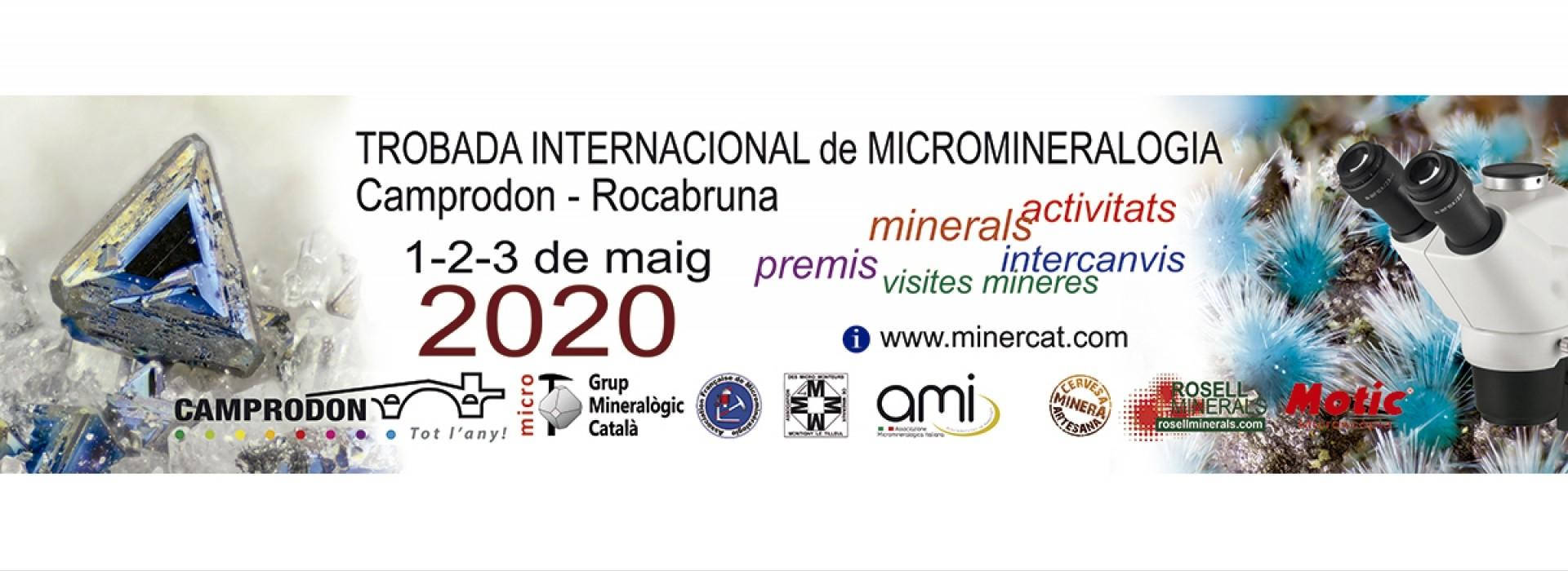 4a Trobada de Micromineralogia  i Sistemàtica Mineral  en Camprodon – Rocabruna,  Ripollès, Girona, Catalunya