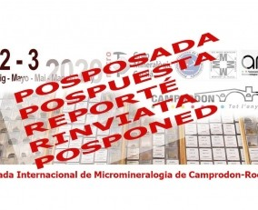 >>POSPUESTA<< 4a Trobada de Micromineralogia i Sistemàtica Mineral  a Camprodon - Rocabruna  Ripollès, Girona, Catalunya