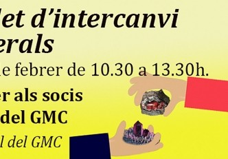 Mercadet d'intercanvi de minerals al local del GMC