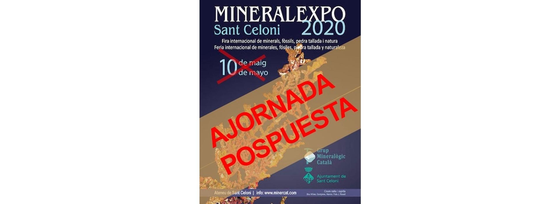 >>POSPOSADA<< MineralExpo Sant Celoni 2020