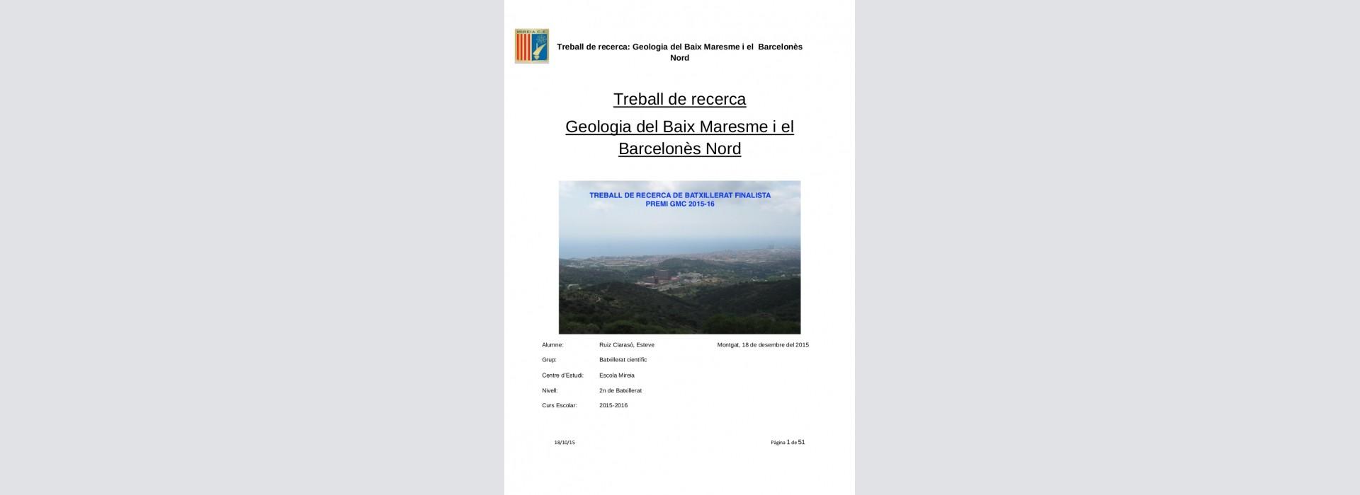 Premio GMC 2018-2019 a trabajos de investigación de bachillerato