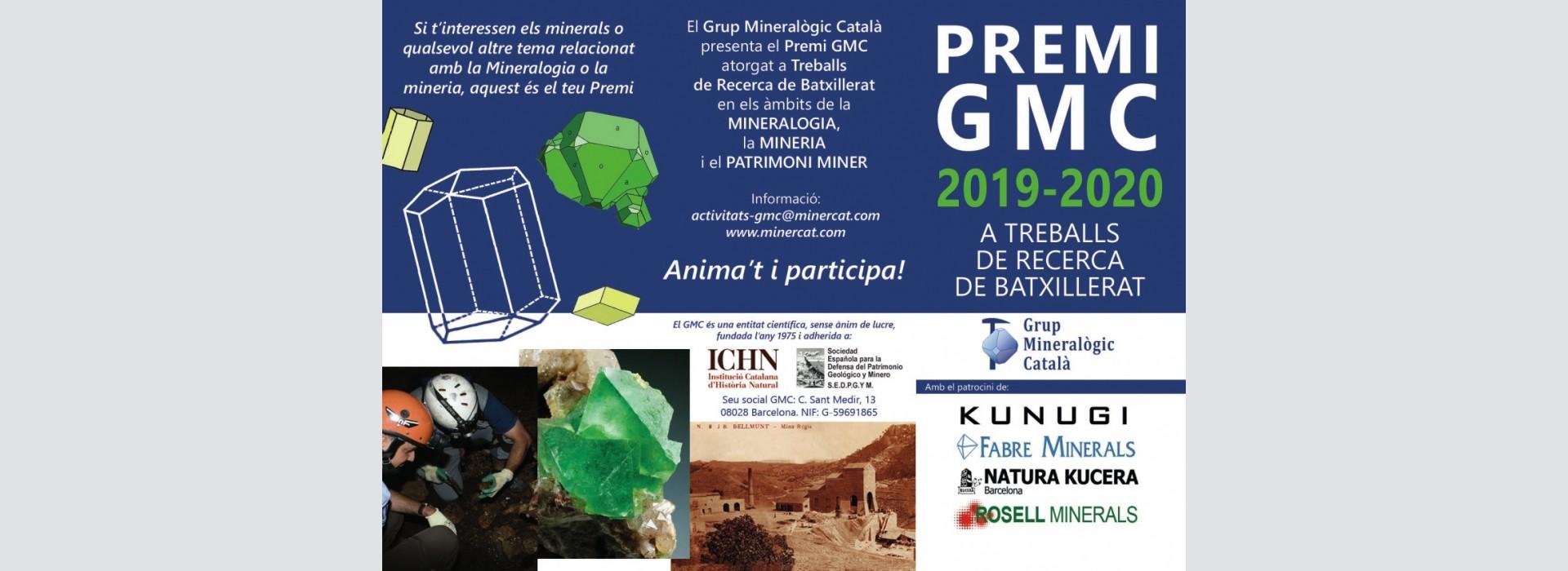 Premio GMC 2019-2020 a trabajos de investigación de bachillerato