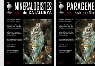 Nueva revista Mineralogistes de Catalunya 2020-1 y Paragénesis 2020-1
