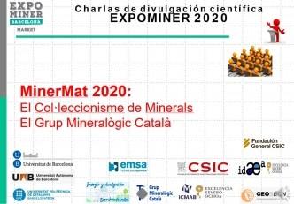 Canal de Youtube del GMC: El col·leccionisme de minerals. El Grup Mineralògic Català