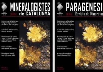 Nueva revista Mineralogistes de Catalunya 2020-2 y Paragénesis 2020-2
