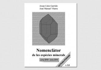 Actualització del 'Nomenclàtor de les espècies minerals' (versió 5.0)