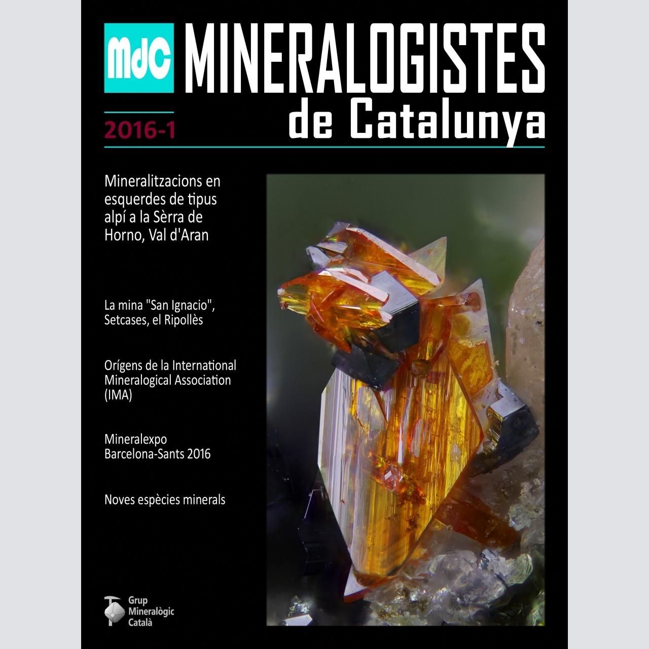 Mineralogistes de Catalunya (2016-1)