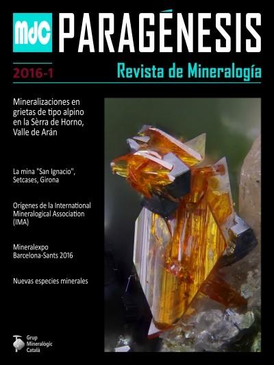Paragénesis. Revista de Mineralogía (2016-1)