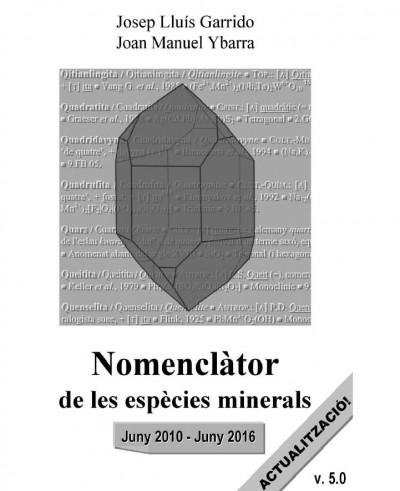 Actualización del 'Nomenclador de les espècies minerals' (versión 5.0)