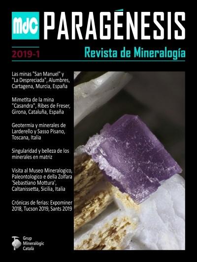 Paragénesis. Revista de Mineralogía (2019-1)