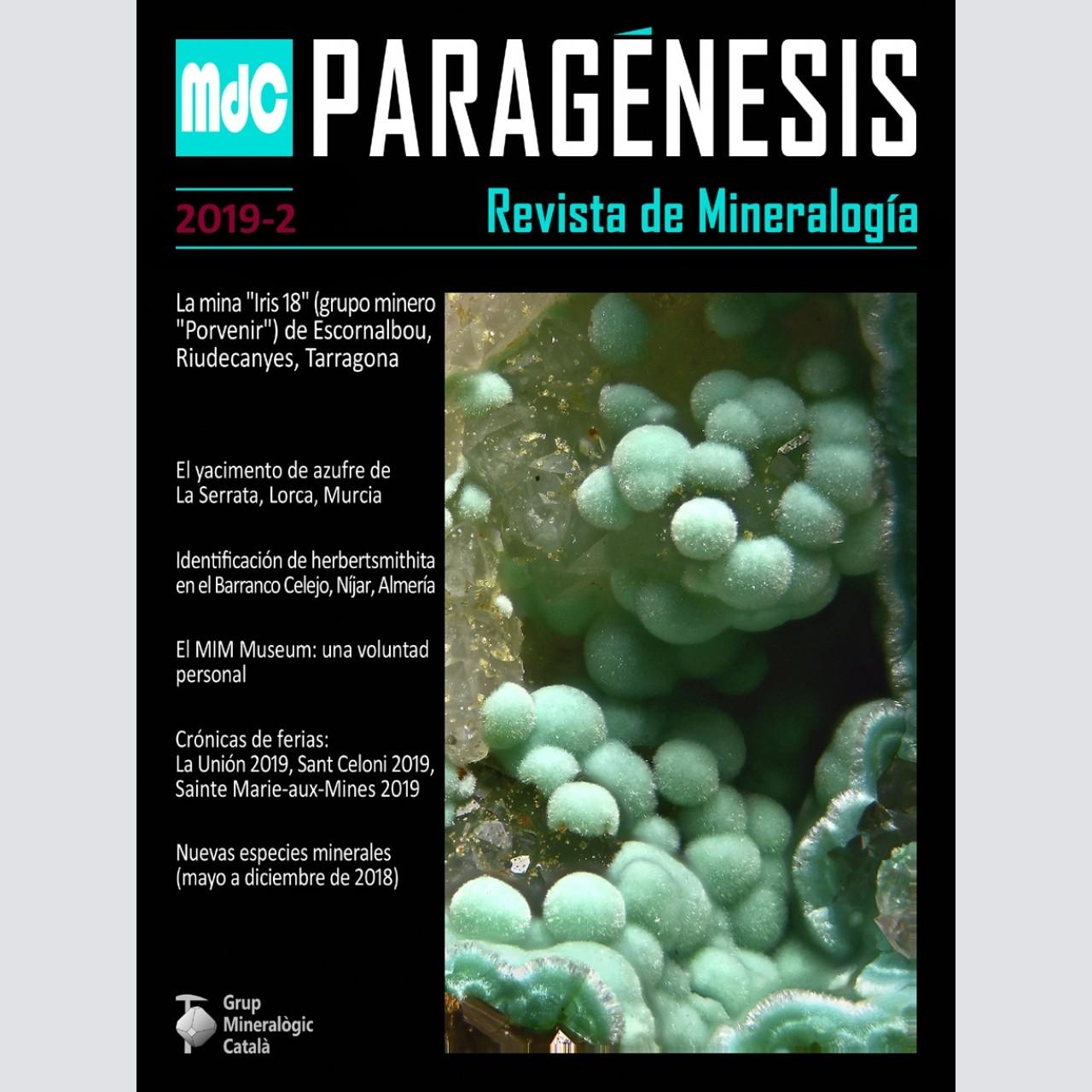 Paragénesis. Revista de Mineralogía (2019-2)