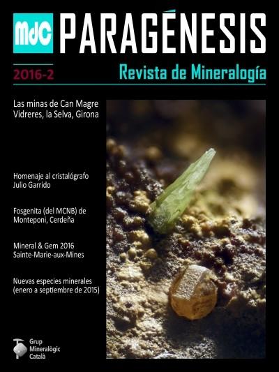 Paragénesis. Revista de Mineralogía (2016-2)