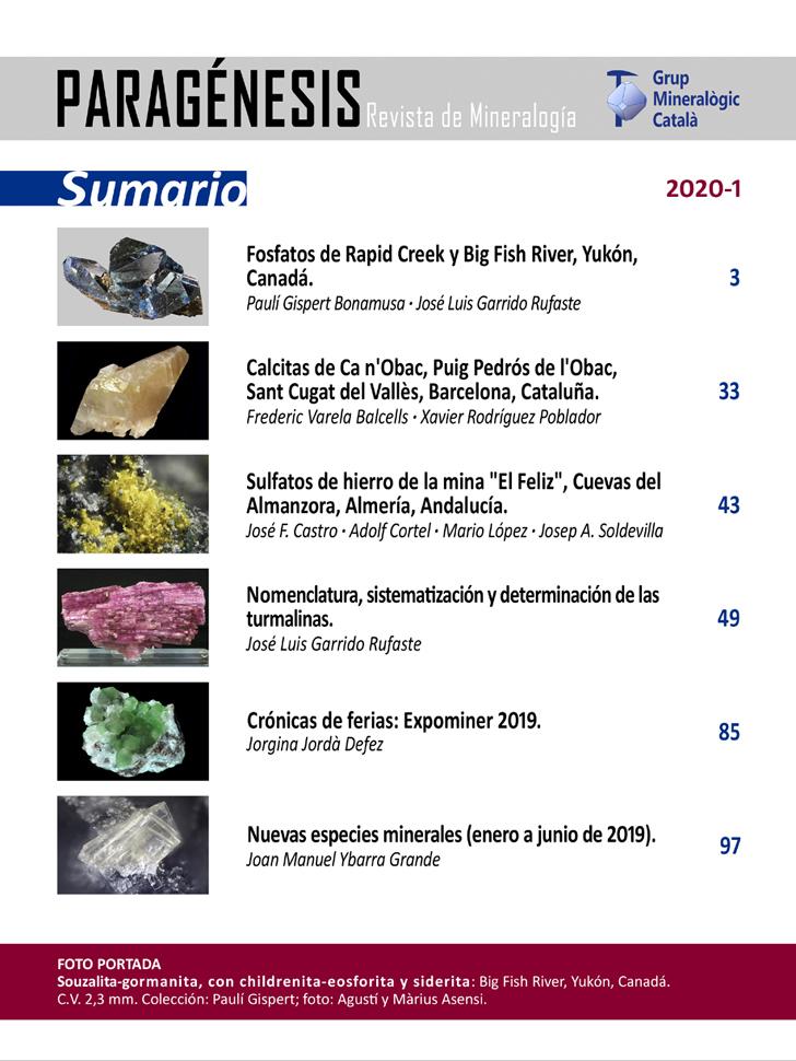 <em>Paragénesis</em> (2020-1) - Sumario